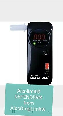 ALCOLIMIT DEFENDER BREATHALYSER PERSONAL USE - AS3547 Approved New