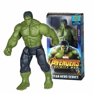 "Avengers 3 Infinity Hulk Action Figures Marvel War 12 ""Titan Hero Series  30cm"