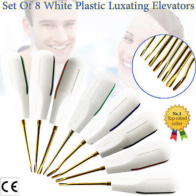 Dental Surgical Luxating Elevators Set Root Extraction Tool Dentist Instruments