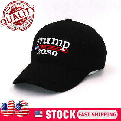 Donald Trump 2020 Keep Make America Great Again Cap Embroidered Hat Black AA+++