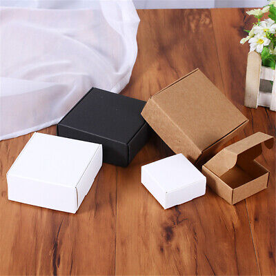 Brown Kraft Paper Box for Party Small Gift Wedding Favors Candy Jewelry Packaged