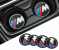 Bmw Msport Silicone Cup Holder Mat X2 Pieces, 66Cm, Brand New. Uk Seller