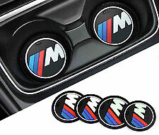 Bmw Msport Silicone Cup Holder Mat X2 Pieces 73. Mm, Brand New, Uk Seller..
