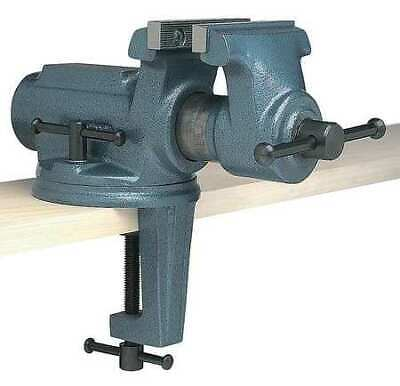 """WILTON CBV-100 4"""" Light Duty Portable Bench Vise with Clamp On, Swivel Base"""