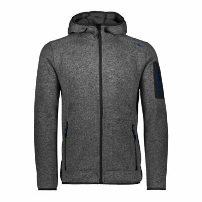 TRUE NORTH HERREN Outdoor Wander Fleece Jacke TN Flatfleece
