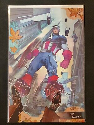 Larraz Young Guns Variant Captain America #702