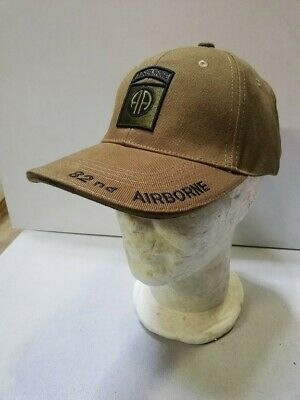 Casquette verte AIRBORNE 82 nd  ALL AMERICAN paratrooper JEEP CAP US VO