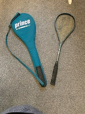 Prince Exterder Lite 180 Squash Racket With Bag Used.