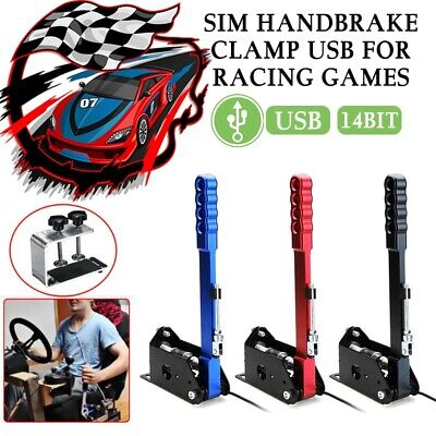 USB Handbrake Clamp Für SIM Drift RC Games G25/27/29 T500 FANATECOSW DIRT RALLY