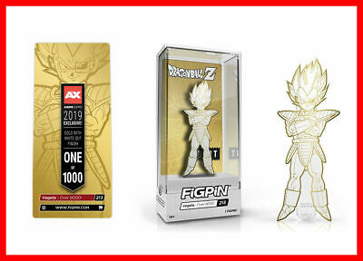 IN HAND Anime Expo AX 2019 EXCLUSIVE Bait VEGETA FIGPIN Limited Edition