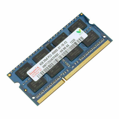 4GB For Hynix Ram Laptop Memory 1066MHz DDR3 SODIMM PC3 8500 Intel 1.5V SDRAM SL