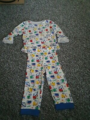 Boys 9-12 Months Pjs From Mothercare *Combined Postage*