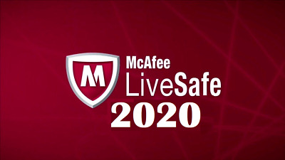 McAfee LiveSafe 2019 Unlimited Devices 12 Month License New & Existing customers