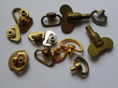 Selection Of Vintage Clock Winders-keys