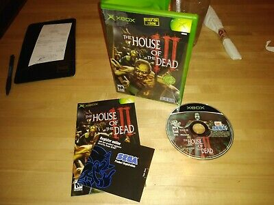 House Of The Dead III XBOX Video Games complete