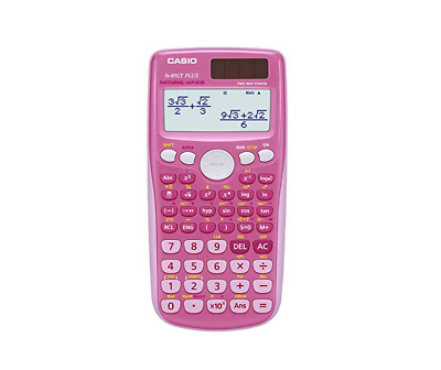 New Casio FX-85GT Plus 260 Functions Scientific Calculator PINK Colour - UK