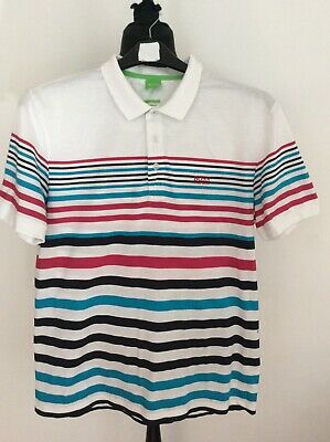Hugo Boss Mens Green Label Polo Style T Shirt Top Size L