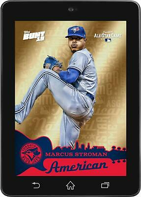 Topps BUNT Marcus Stroman GOLD BASE All-Star Game 2019 [DIGITAL CARD]