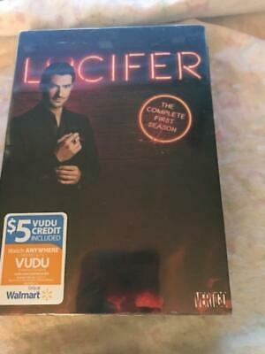 Lucifer: The Complete 1ST Season (DVD,2016,3-Disc Set)NEW SEALED FREE SHIPPING