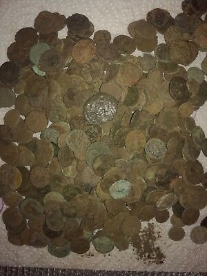 Uncleaned Roman Coins Imperial Lower Grade