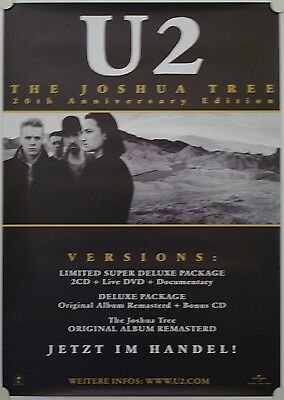 Affiche Groupe Rock U2 The Joshua Tree 1994