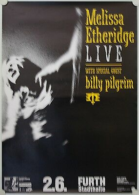 Affiche Concert MELISSA ETHERIDGE 1994