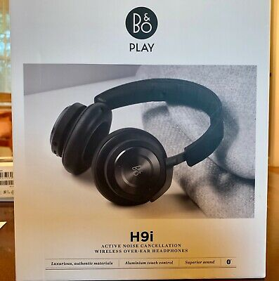 34be326e1d2 Bang & Olufsen Beoplay H9i Noise Cancellation Bluetooth Headphones - Black