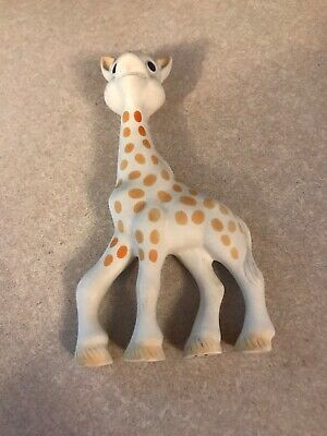Vulli Sophie the Giraffe La Baby Teether Natural Rubber Pacifier Squeaker Toy
