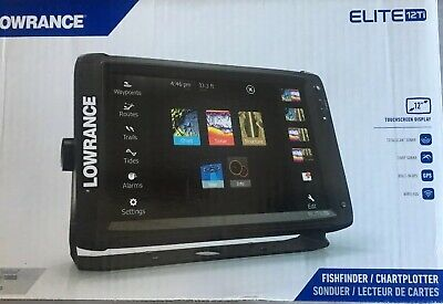 LOWRANCE ELITE-9 TI fishfinder/chartplotter with Med/High