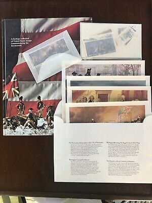 1976 Heritage Collection Set United States Stamps Commemorating Bicentennial MNH