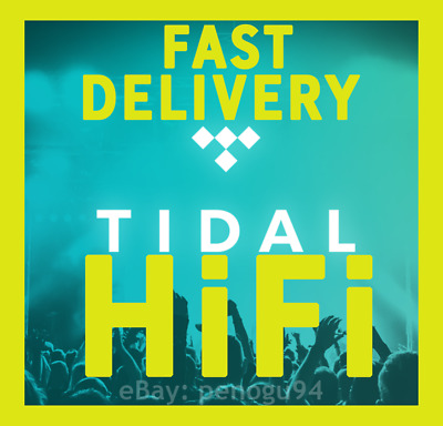 TIDAL HiFi 3 Months - 6 Users - FLAC (LOSSLESS) - INSTANT DELIVERY