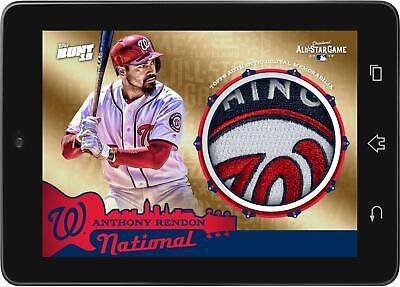 Topps BUNT Anthony Rendon GOLD RELIC All-Star Game 2019 [DIGITAL CARD]