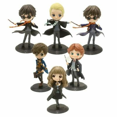 QPosket Harry Potter Ron Weasley Hermione Granger Draco Malfoy figure toy NO BOX