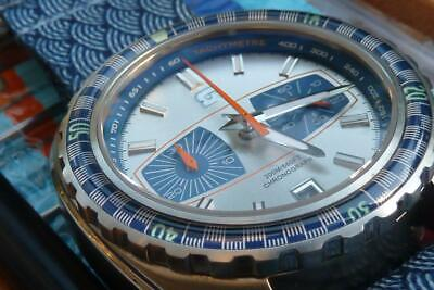 As New Straton Synchro Chronograph 70's Inspired Diver Racing Watch