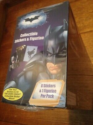 The Dark Knight Collectible Stickers And Figurines Sealed Box Of 24