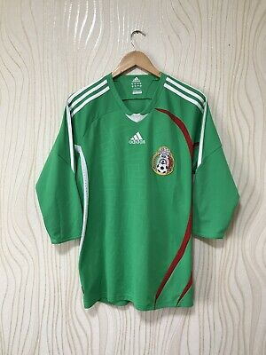 8e44d1db39cc4 JERSEY ADIDAS MEXICO National Team Home Green Name and Number ...