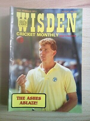 Wisden Cricket Monthly - August 1985