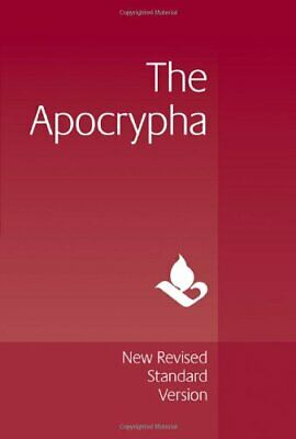 NRSV Apocrypha Text Edition  NR520:A (Bible Nrsv) New Hardcover Book