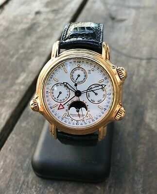 Jaeger LeCoultre Grand Reveil 18k Rose Gold Box and Papers, top condition, rare!
