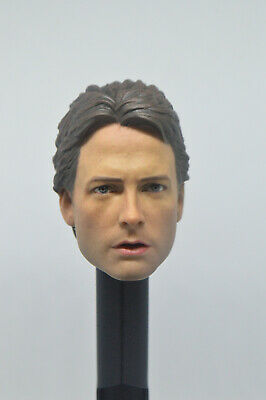 1/6 Scale Back to the Future Marty McFly  Head Sculpt For 12''   Figure