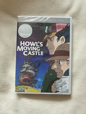 Howls Moving Castle DVD, The Studio Ghibli Collection SEALED NEW