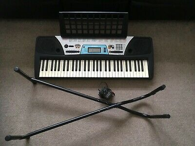 Yamaha PSR-170 With Music Rest, 12v Adaptor And Stand