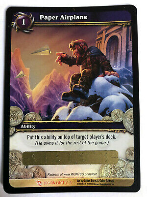 WOW TCG LOOT Card Personal Weather Maker Warcraft Toy Goblin