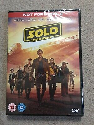 Solo: A Star Wars Story [DVD] (2018) New & Sealed - UK Fast Shipping