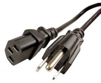 3 PRONG Power Cord Cable FOR Monitor Speaker Amplifier