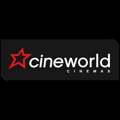 Cineworld cinema e code ticket (4 available) valid Sundays. codes sent by email