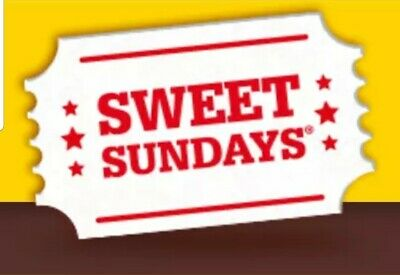 sweet sunday codes for 4 x cinema tickets:Cineworld Empire Showcase Reel #3