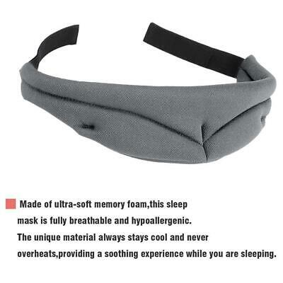 Travel 3D Eye Mask Sleep Soft Padded Shade Cover Rest Relax Sleeping Accessories