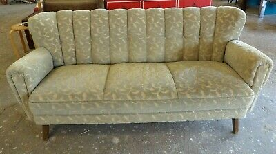 Vintage Sofa Midcentury Daybed Retro Couch Vintage Cocktail 50er