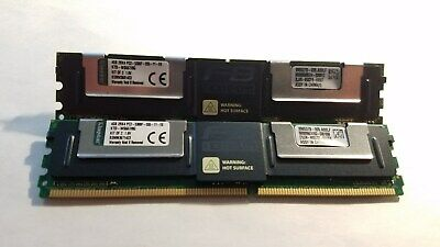 Server; Kingston 8GB Kit (2X4GB) PC2-5300 DDR2-667MHz ECC Fully Buffered CL5